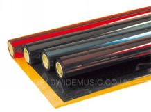 Heat Proof Coloured Transparent Gel Sheet for stage lighting effects with a wide choice of colours